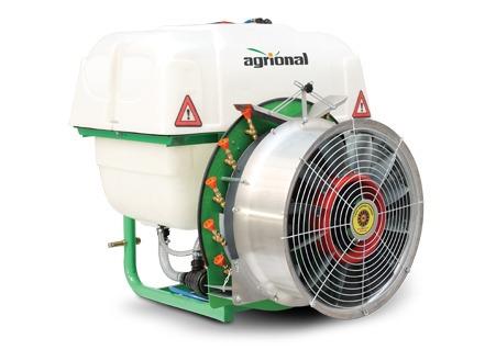 atomizadora agrional 600 lts  maquinaria agrícola