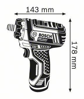 atornillador bosch a batería gsr 12 v-li g p