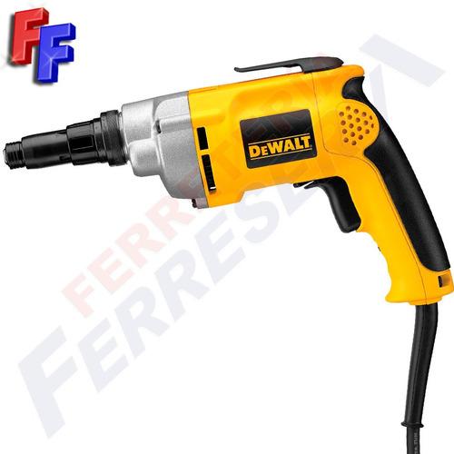 atornillador dewalt madera metal 540w dw268 ff