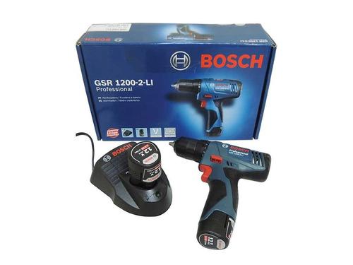 atornilladora a bateria bosch gsr 1200-2li 12v