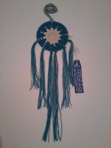 atrapasueños mandalas tejidos en crochet 10 cm a elección