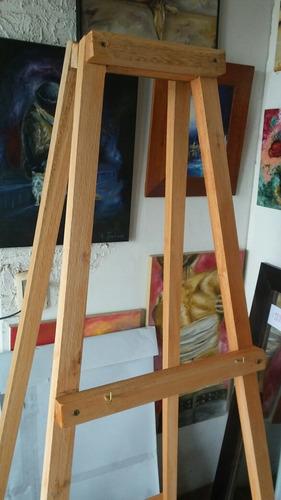 atril de 4 patas super firme para mural de firmas o artistas