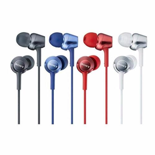 audífonos sony mdr-ex250ap micrófono integrado 12mm 100mw