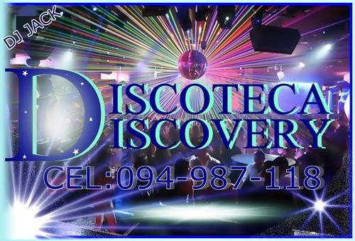 audio luces dj  pantalla gigante. servicio de discoteca.