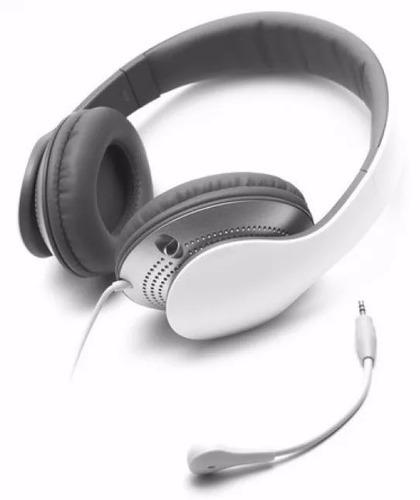 auricular edifier k830 blanco cómodo ajustable micrófono