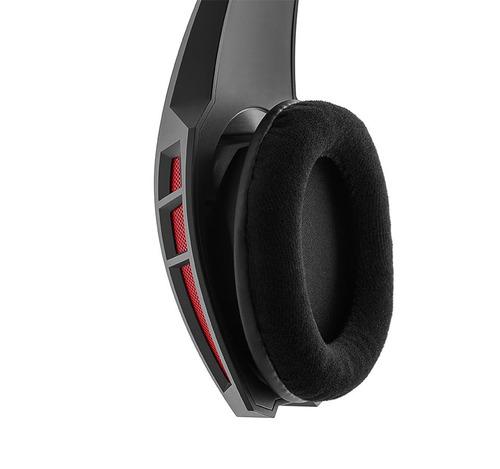 auricular gamer edifier g2 negro con microfono y cable 2mt