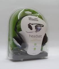 auricular plegable c/ microfono y control de volumen headset
