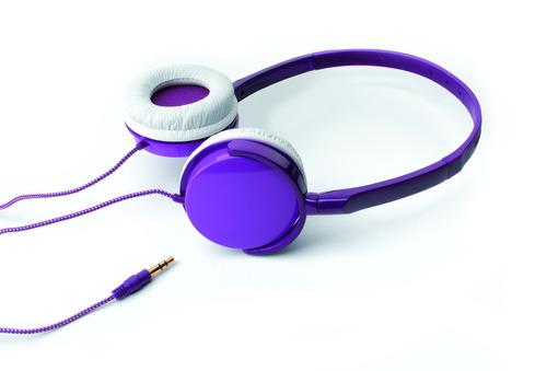 auricular vincha confort violeta