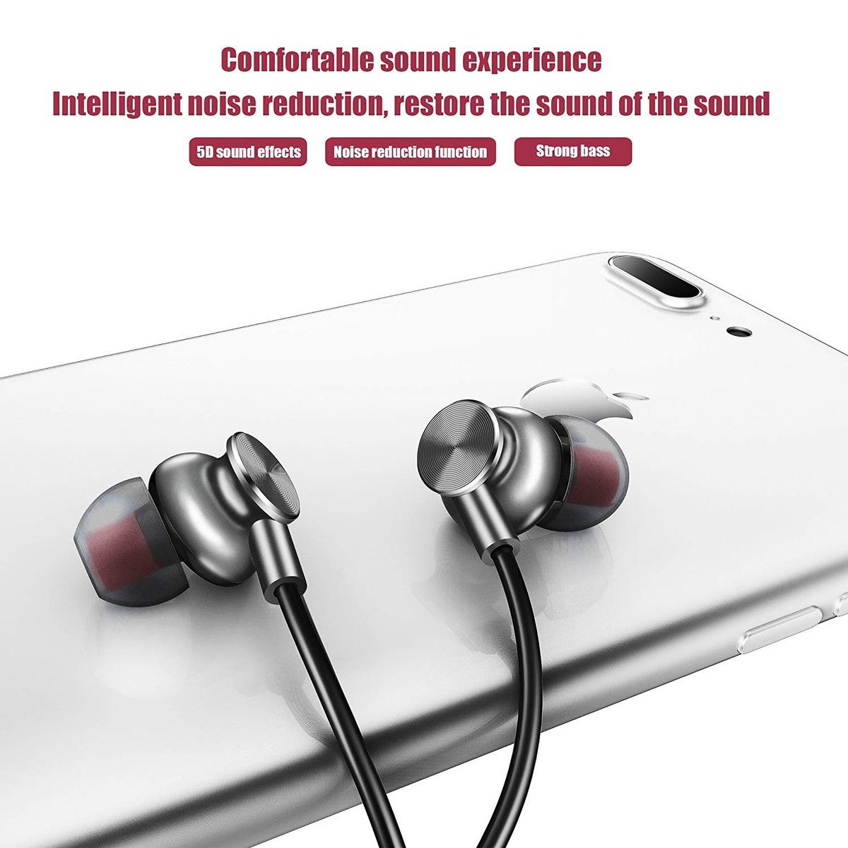 Auriculares Bluetooth, Leyoudy Auriculares Inalámbricos B
