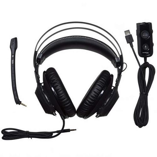 auriculares con microfono hyperx cloud revolver s negro