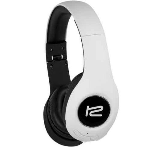 auriculares con ranura micro sd y bluetooth blancos klip