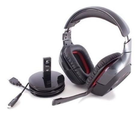 auriculares gamer logitech g930 7.1 inalámbricos