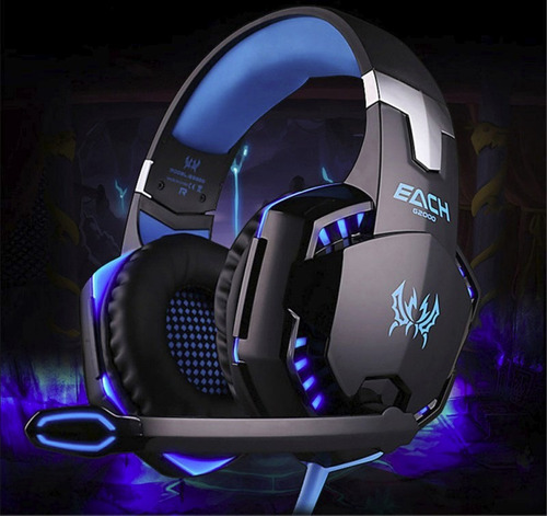 auriculares gamer pc 7.1 usb led extra graves bass ®