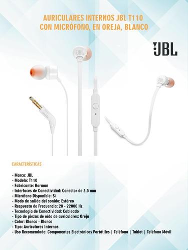 auriculares manos libres jbl t110, rosas hermanos mercedes
