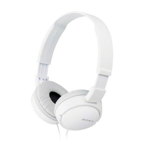 auriculares sony mdr-zx110 blanco + envío