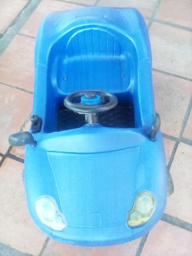 auto a bateria para niños usado