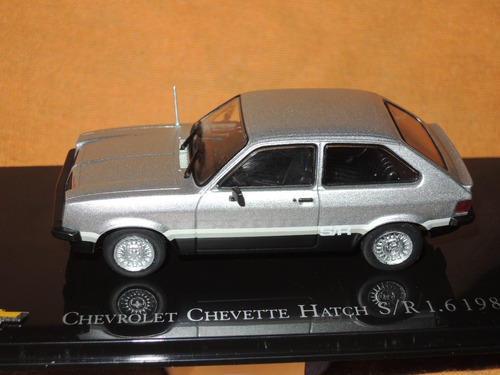 auto chevrolet chevette hatch 1981. coleccion. escala 1/43.