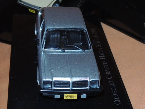 auto chevrolet chevette hatch. coleccion. escala 1/43. metal