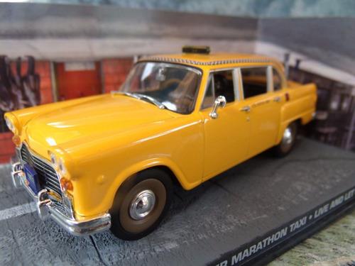 auto james bond 007 checker taxi escala 1:43 colección