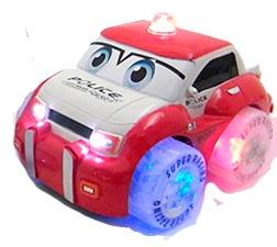 auto policía a control remoto