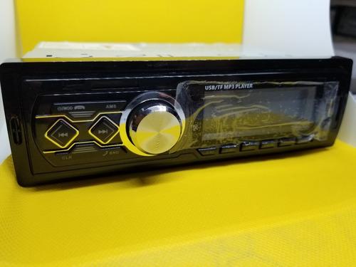 auto stereo bluetooth 50 watts usb sd radio fm + control rm