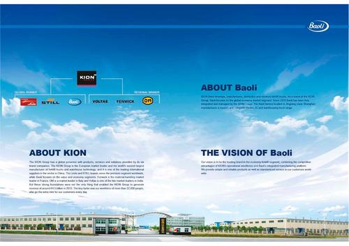 autoelevador baoli 12,800+iva -entrega inmediata- kion group