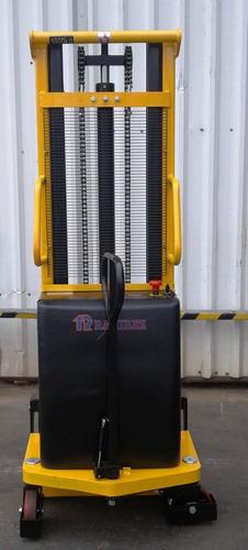 autoelevador montacarga apilador semielectrico 3.0mts 1000kg