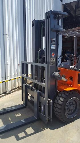 autoelevador montacarga nuevo dalian 4000kg liquidacion!