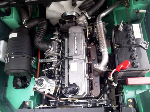 autoelevador montacarga nuevo mitsubishi para 2500kg oferta