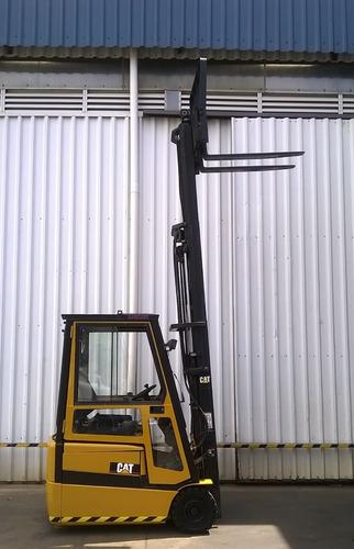 autoelevador montacarga usado caterpillar 1600kg eléctrico