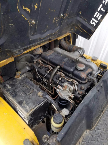 autoelevador montacarga usado marca hyster 4000kg diesel