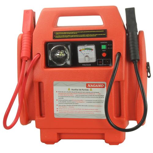 auxiliar de partida 400a saída 12v ar compressor 260psi