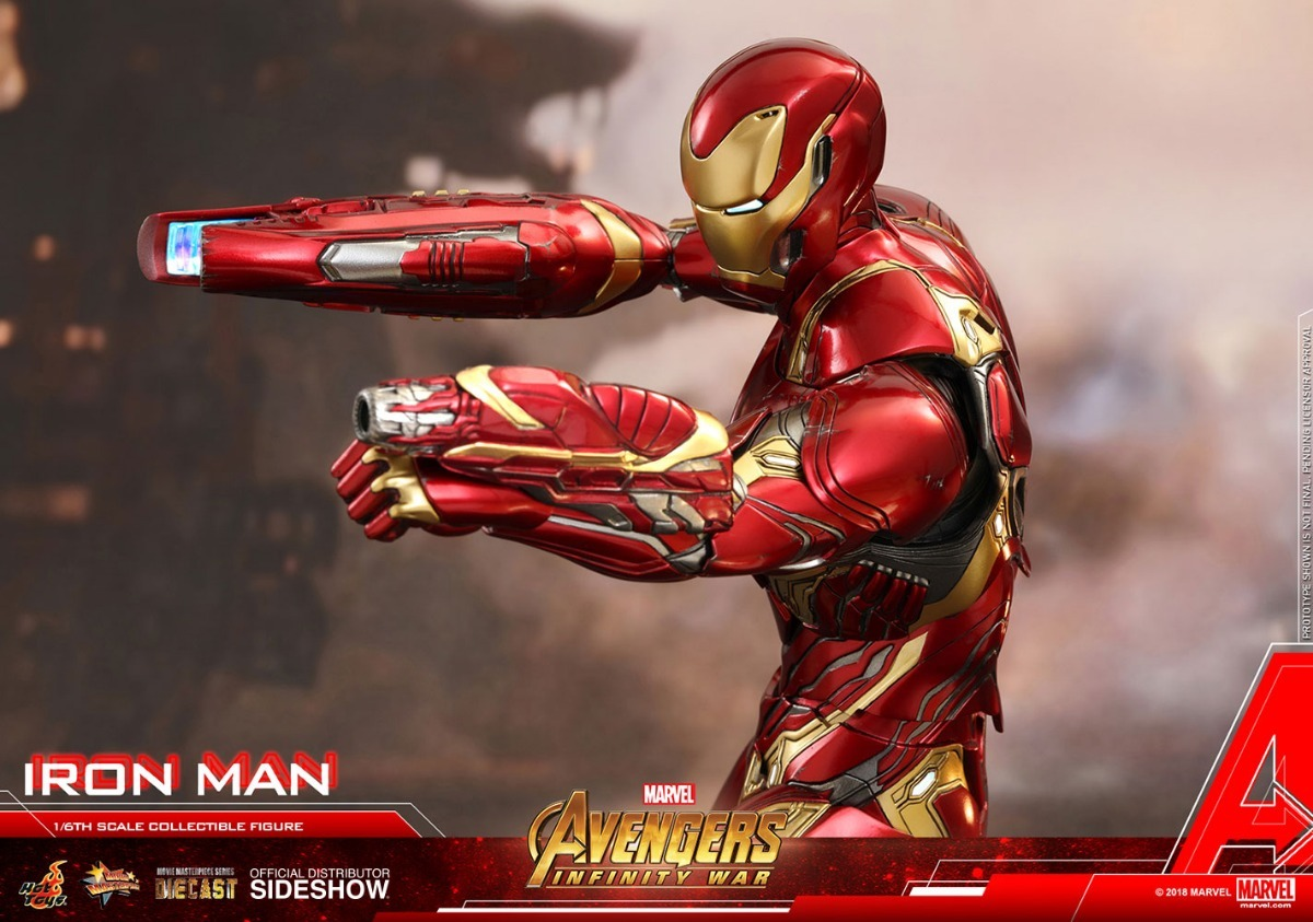 Avengers Infinity Wars Iron Man Mark 50 L Hot Toys 1/6 - $ 45 000,00