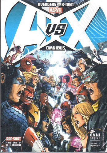 avengers vs x-men tomo único  ómnibus marvel