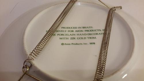 avon 1978, plato decorativo de coleccion