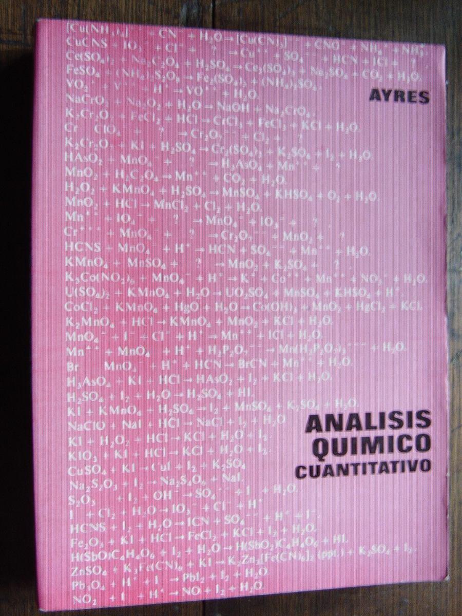 analisis quimico cuantitativo ayres