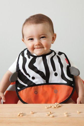babero  para bebe skip hop  cebra