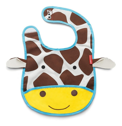 babero  para bebe skip hop jirafa