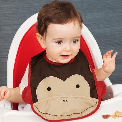 babero  para bebe skip hop mono