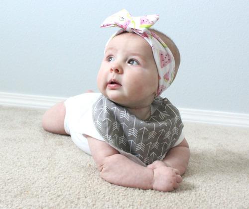 baberos bandana bebe