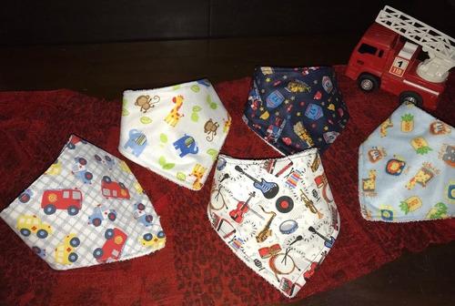 baberos bandana para bebés