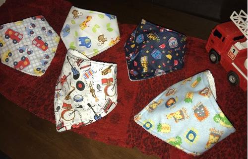 baberos bandana para bebés,