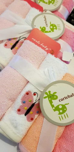 babitas tela toalla cartebaby set x4 flaber