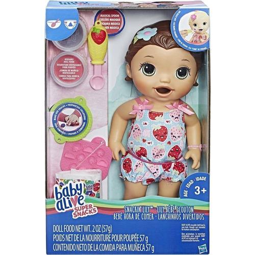 baby alive bebé hora de comer hasbro c2698