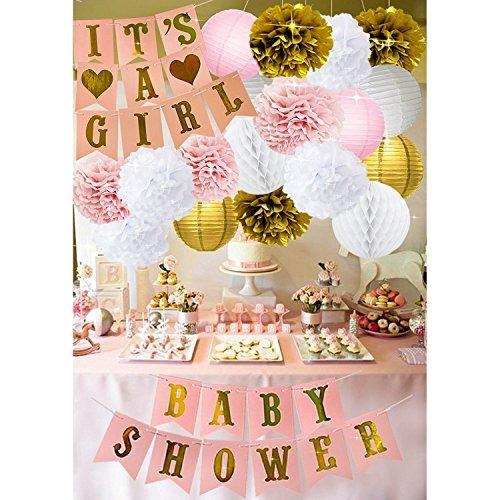 Baby shower decoraciones para ni a es una ni a y beb du for Decoracion para bebe nina