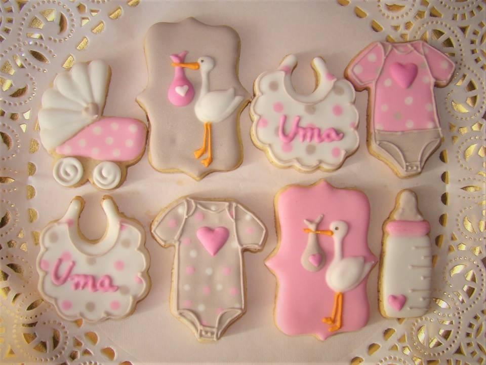 Baby Shower Regalo Caja Box Galletas Decoradas Cookies