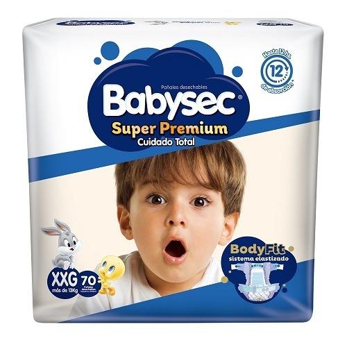 babysec super premium xxg (+13 kg) - x70