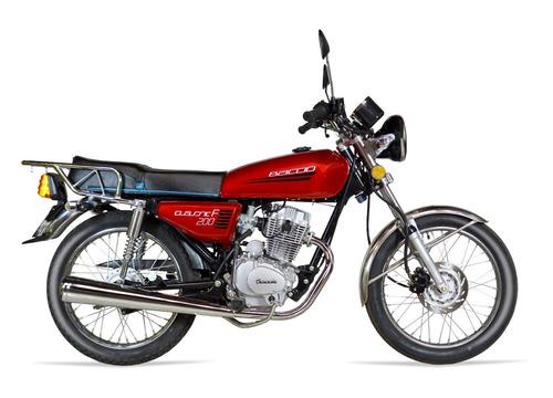 baccio classic 200 nuevo modelo 2018 delcar motos