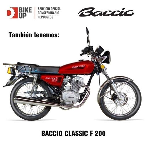 baccio classic f125 - garantia extendida - tomamos tu usada