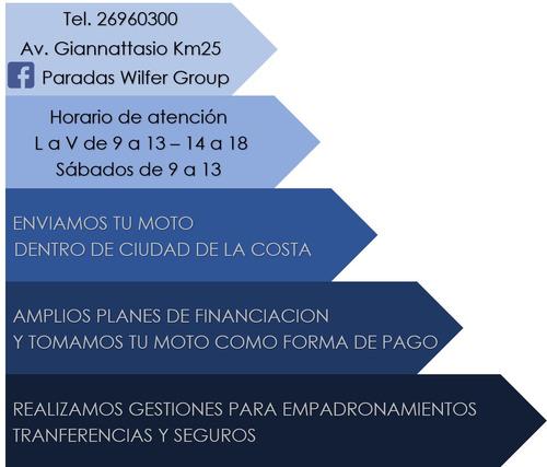 baccio p110 entrega inmediata - permuta - financiación